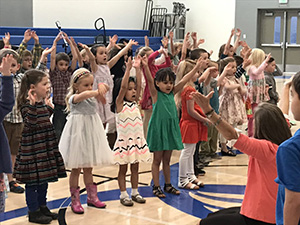 Children Singing at Denver Christian