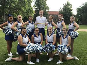 Denver Christian High School Cheer Team
