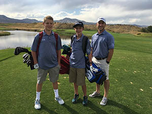 Denver Christian High School Golf Team, Lakewood, CO,
